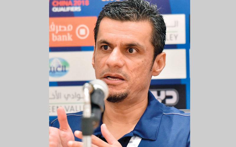 حسن العبدولي : «لن نبالغ في فرحة الفوز الذي تحقق في المباراة الأولى على نيبال بخماسية».