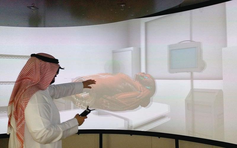 الصورة: «جسد افتراضي» لتدريب الجراحين الجدد
