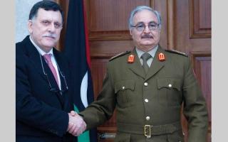 الصورة: «الجامعة» تؤكد دعمها لأي جهد سياسي يهدف إلى تسوية الأزمة في ليبيا