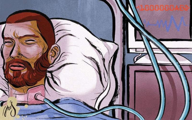 الصورة: «أبوعُلا» يحتاج إلى أدوية بـ 20 ألف درهم سنوياً