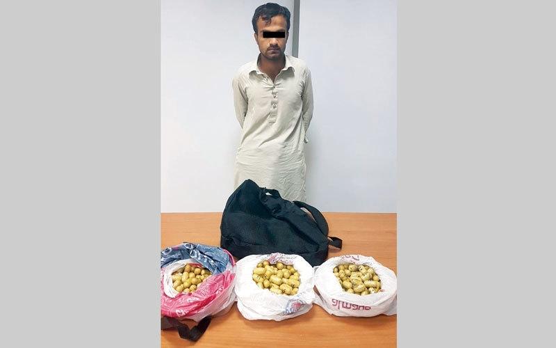 الصورة: شرطة دبي تضبط 3.6 كيلوغرامات «هيروين» بحوزة مساعد مندوب مبيعات