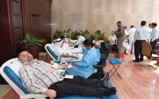 الصورة: بلدية دبي تنظم يوماً للتبرع بالدم