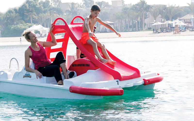 شاطئ مُبَرَّد للنساء في دبي