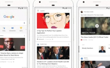الصورة: «غوغل» تعتزم إضافة خاصية «آخر الأخبار» لصفحتها الرئيسة
