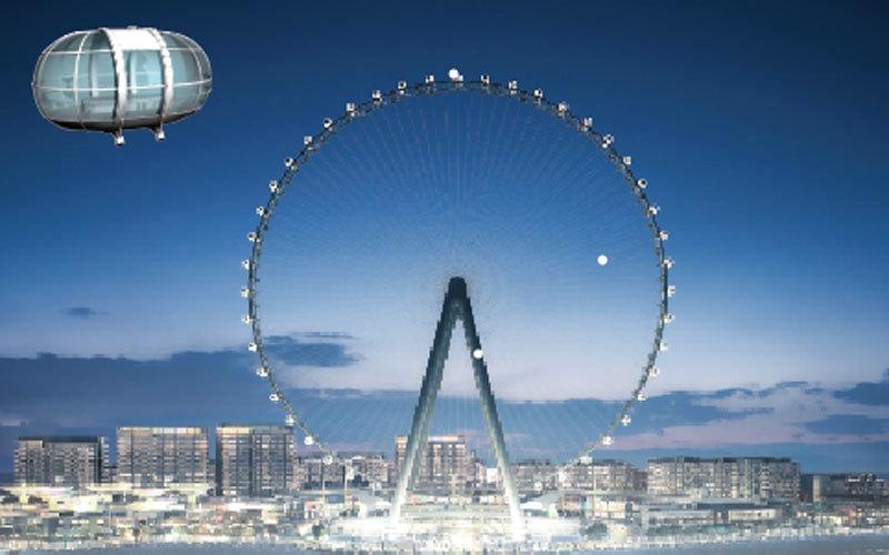 الصورة: غرافيك.. «عين دبي» العجلة الترفيهية الأكبر عالمياً