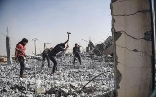 الصورة: مقتل 28 من قوات النظام في كمين قرب دمشق