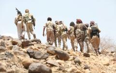 الصورة: «الشرعية» تحقق اختراقاً جديداً في جبهة البقع بصعدة