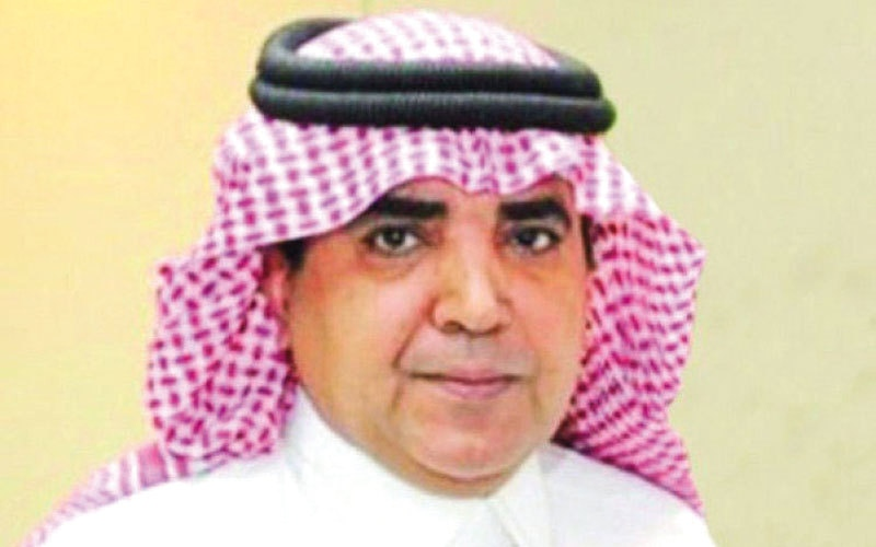 الصورة: العبدالكريم رئيساً لتحرير «الرياض»