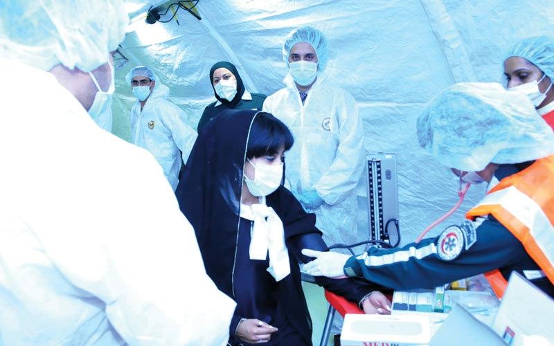الصورة: «زايد للعمل الإنساني» تؤهل قياديين مواطنين لمهام طبية دولية