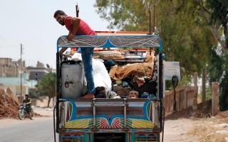 الصورة: جيش النظام يعلن وقفاً للقتال في الغوطة الشرقية