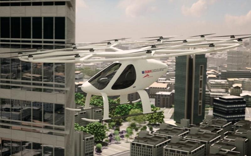الصورة: بالفيديو..  تعرف إلى أبرز مميزات التاكسي الجوي ذاتي القيادة