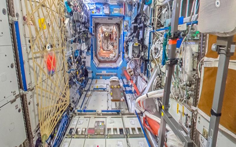 """الصورة: """"Google"""" تطلق خدمة Street View لأول مرّة من محطة الفضاء الدولية"""
