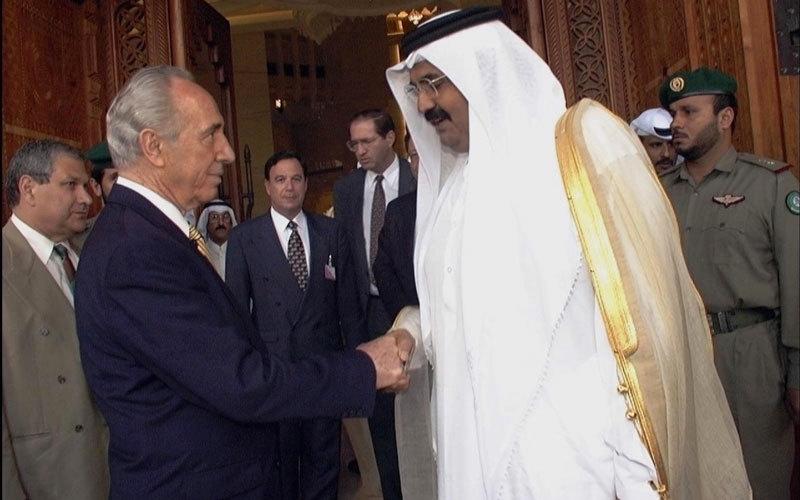 الصورة: التطبيع بين قطر وإسرائيل حمل طموحات بلا حدود
