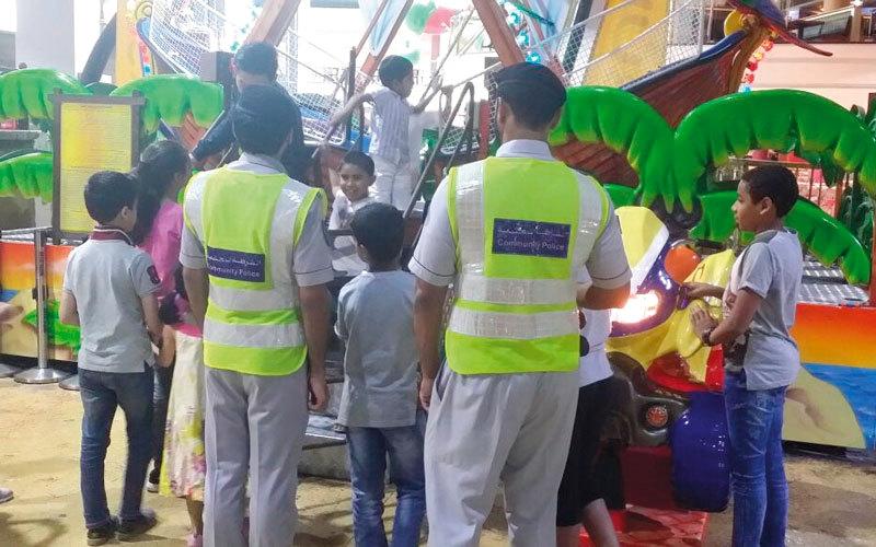 الصورة: شرطة الشارقة تنظم رحلة ترفيهية للأطفال الأيتام
