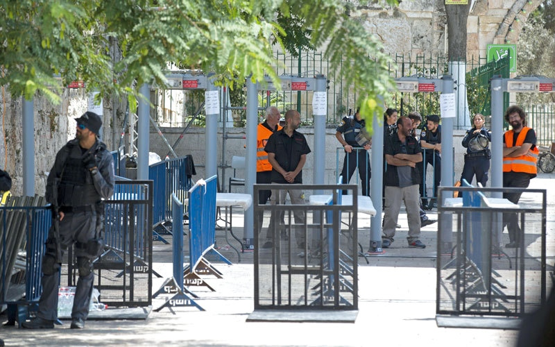 الصورة: «الجامعة العربية»: القدس «خط أحمر».. وإسرائيل تلعب بالنار