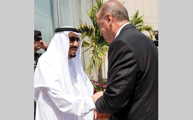 الصورة: تركيا لن تكون وسيطاً نزيهاً  في أزمة قطر مع جيرانها