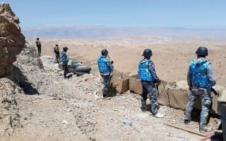 الصورة: قوات روسية تراقب منطقتين يشملهما خفض التصعيد في سورية