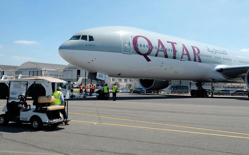الصورة: «القطرية» تواجه ضغوط إنهاء اتفاقيات مشاركة الرموز