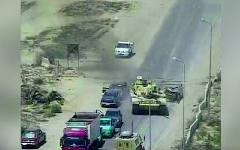 الصورة: بالفيديو.. تفاصيل العملية الإرهابية التي أحبطها الجيش المصري في العريش
