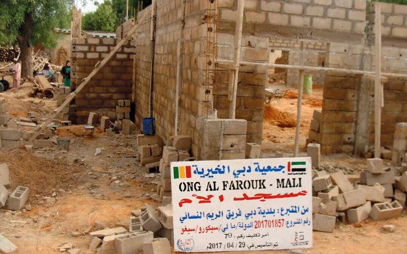 الصورة: إنجاز مبادرة لبناء «مسجد الأم» في مالي