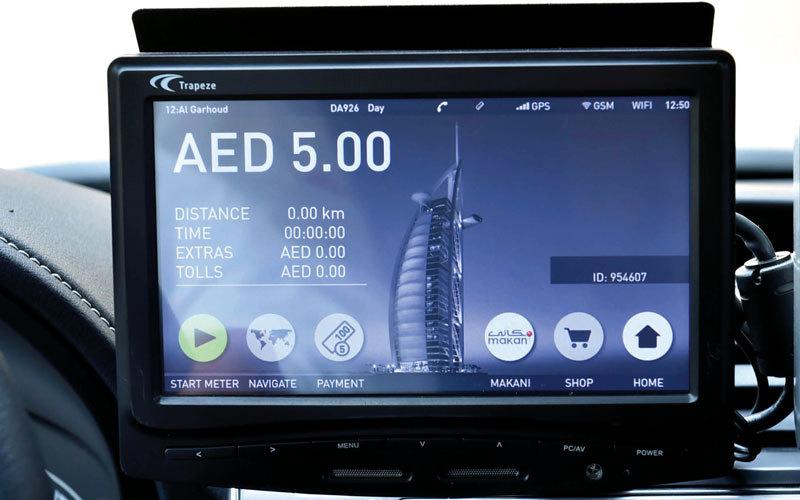 «طرق دبي» انتهت من تركيب 4850 عداداً في نهاية يونيو الماضي. من المصدر