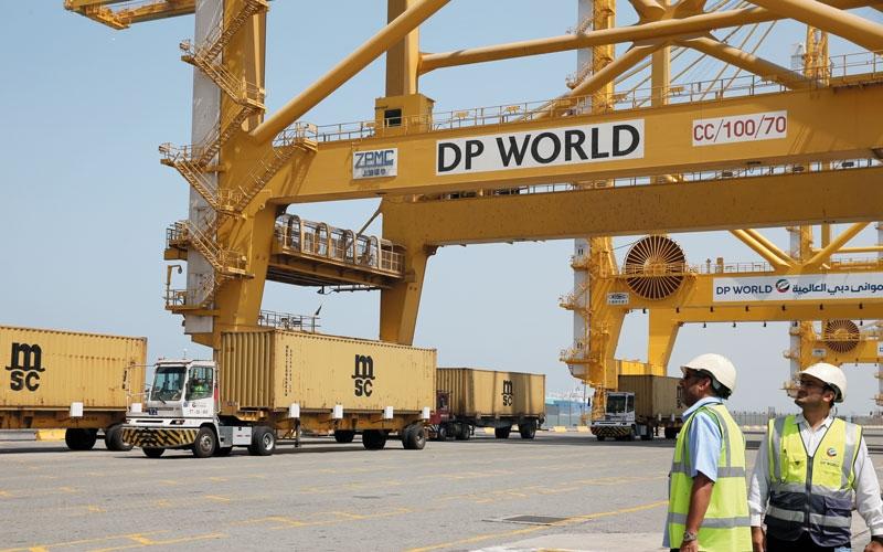 الصورة: «موانئ دبي»: مناولة 34 مليون حاوية بنمو 7.7% في النصف الأول