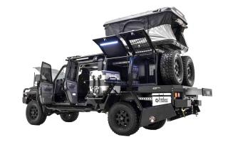 الصورة: «LC79».. سيارة بقطع غيار إماراتية مخصصة للمغامرات الصحراوية