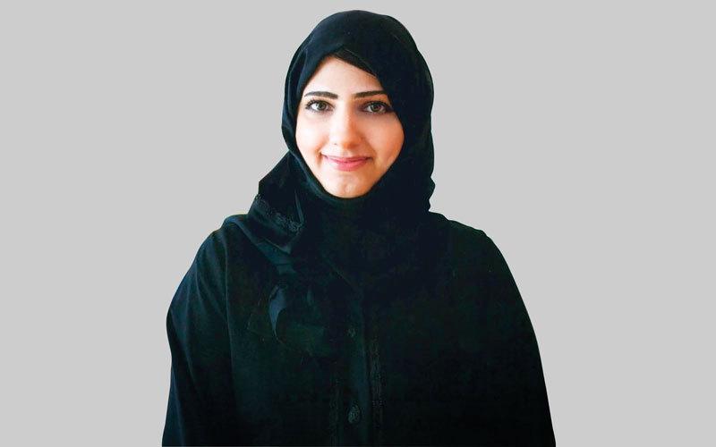 مريم خلفان:إيجابية الفرد تجعل مفهوم وإحساس السعادة كالعطر، يمكن نشره في كل مكان.