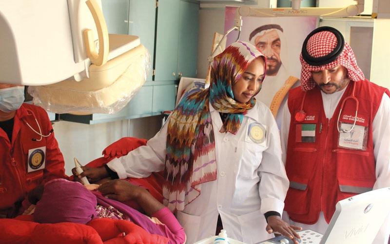 الصورة: «زايد الخير» تكثّف مهامها التطوعية في القرى السودانية