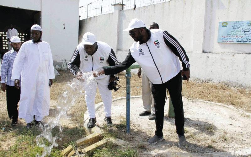 الصورة: «دار البر» تُطلق «قطرة ماء تساوي حياة»