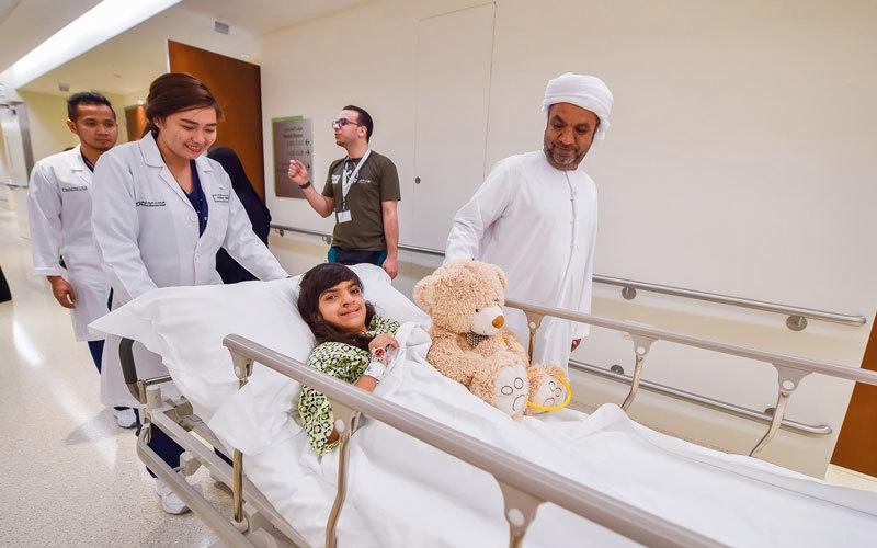 الصورة: «عملية الابتسامة» تجري جراحات لأطفال يعانون تشوهات