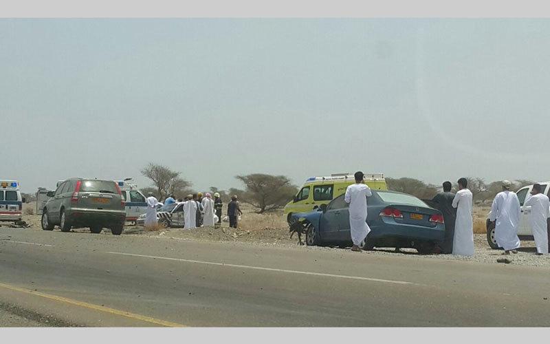 وفاة 38 مواطناً بحوادث طرق خلال 5 سنوات في سلطنة عُمان - محليات - حوادث  وقضايا - الإمارات اليوم