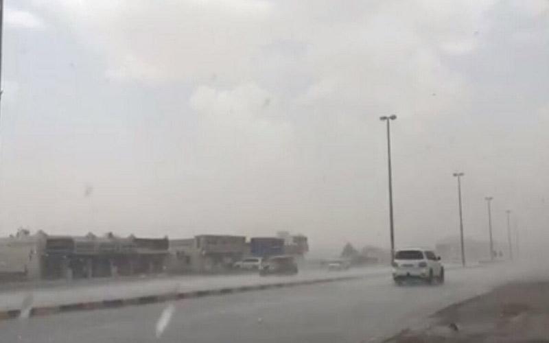 """الصورة: """"الأرصاد"""": احتمال هطول أمطار اليوم"""