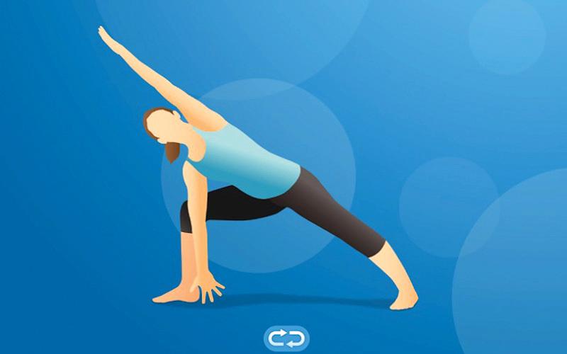 Pocket Yoga.. جلسات «يوغا» مختلفة الصعوبة وتعليمات لإرشاد المستخدمين