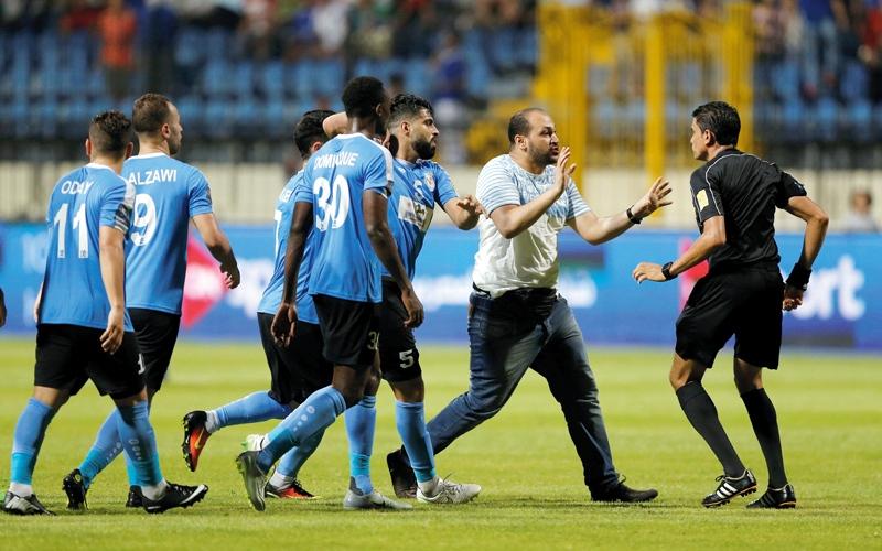 الصورة: إلغاء عقوبات البطولة العربية على لاعبي الفيصلي