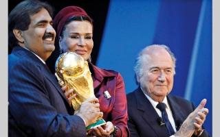 الصورة: اتهام ساركوزي بتلقي رشى لتسهيل استضافة قطر كأس العالم 2022