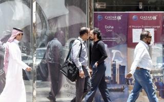 الصورة: قانون الإقامة الجديد في قطر لعبة علاقات عامة