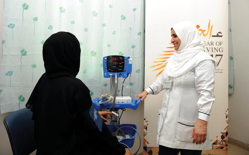 «العيادة التطوعية» تقدّم خدمات علاجية للنساء من المرضى المعسرين. من المصدر