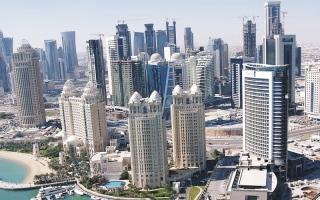 الصورة: «بلومبيرغ»: بنوك قطر فقـدت نصف قاعدة المستثمرين