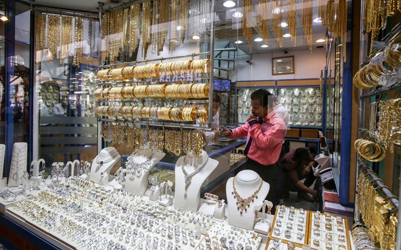 الأسعار الحالية للذهب غير محفّزة على شراء السبائك والعملات لأغراض الادخار والاستثمار. تصوير: أشوك فيرما