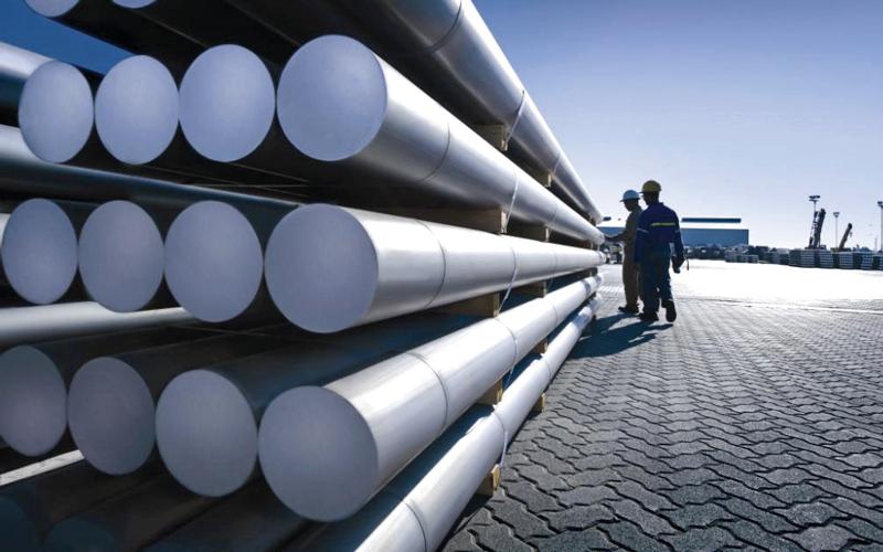 شركة الإمارات العالمية للألمنيوم تواصل التركيز على تطوير تقنياتها والتحسين المستمر لعملياتها التشغيلية. أرشيفية