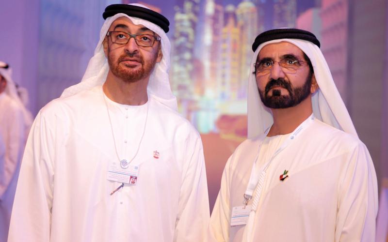 محمد بن راشد ومحمد بن زايد لشباب الإمارات:  كل عام وأنتم بالوطن أعلى.. ومن أجل الوطن أقوى