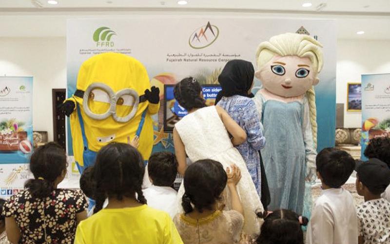 الصورة: 960 طفلاً وطفلة   في «أوحلة» يختتمون «قيض الخير»