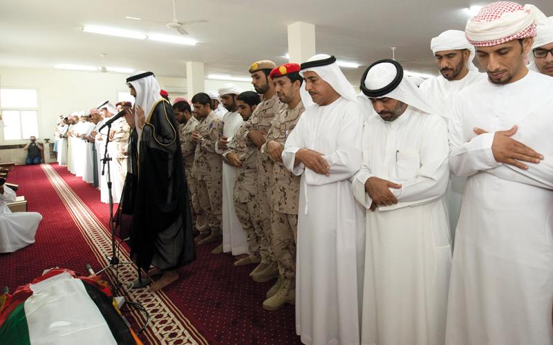 والد الشهيد محمد الحساني: أبنائي جميعاً فداء للوطن