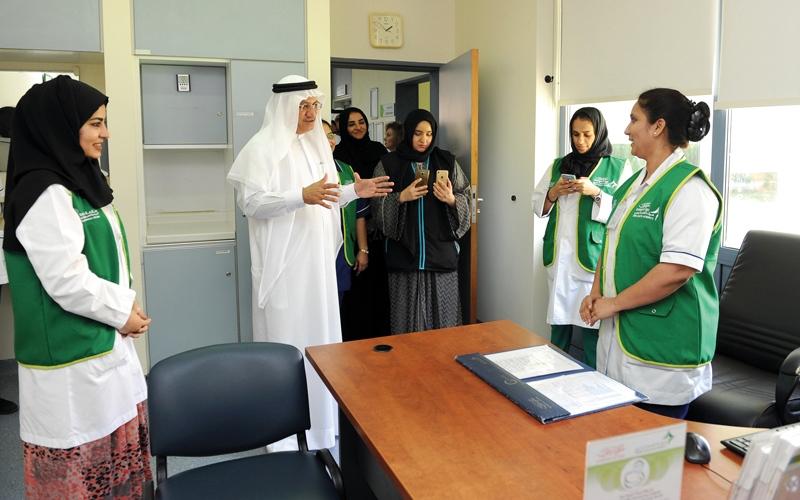 الصورة: «صحة دبي» تدشن مرحلة التشغيل الثانية لمشروع الملف الطبي الموحد