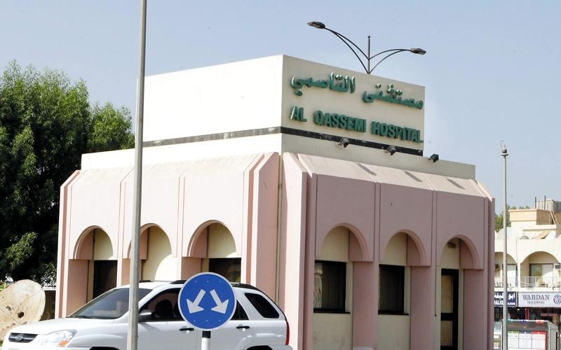 الصورة: انقطاع جزئي للكهرباء في مستشفى القاسمي