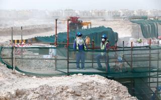 الصورة: حقوق الإنسان تحتضر في قطر وسط انتقادات دولية