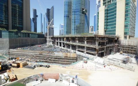 الصورة: %99 معدل الإشغال في مركز دبي المالي العالمي