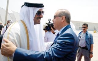 الصورة: تركيا «الإخوانية» تخاطر بمصالحها بالتحالف مع قطر