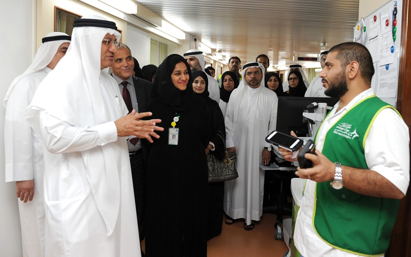 الصورة: «صحة دبي» تبدأ المرحلة الثانية  من مشروع «سلامة»